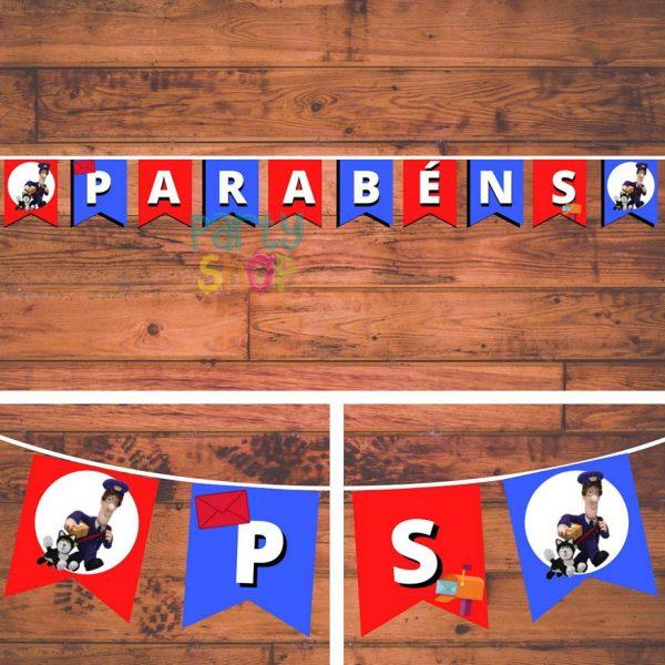 bandeirola artesanal bannp109