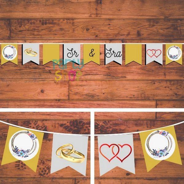 bandeirola artesanal bannp205