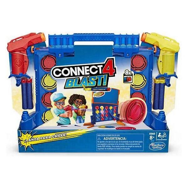 298751 3 hasbro jogo de mesa connect 4 blast