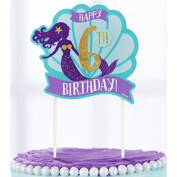cake topper sereia 1