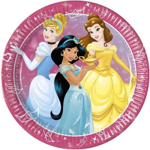 piatto grande principesse disney day dream 8pz