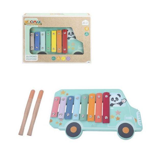 xilofone de madeira panda 98416354