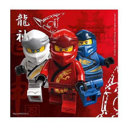 0029144 20 guardanapos lego ninjago 420