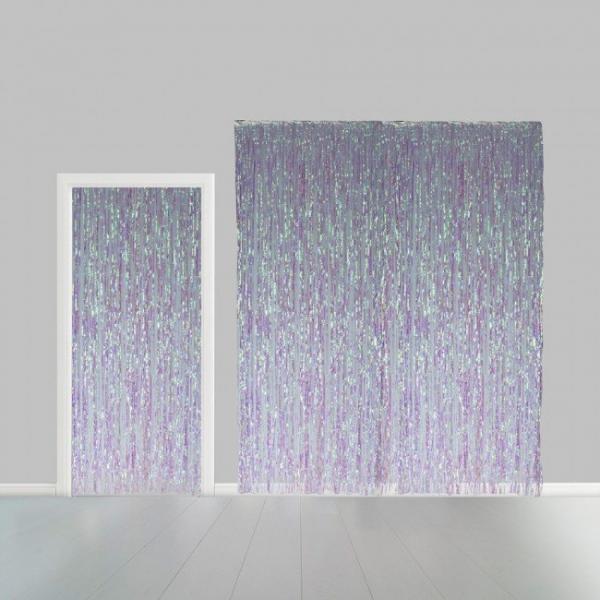 iridiscente party curtain 54658453