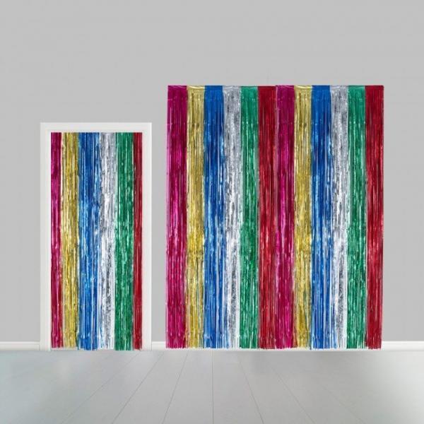 multicolour party curtain 5465487
