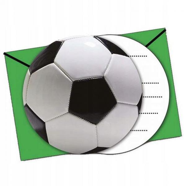 football party invitaions