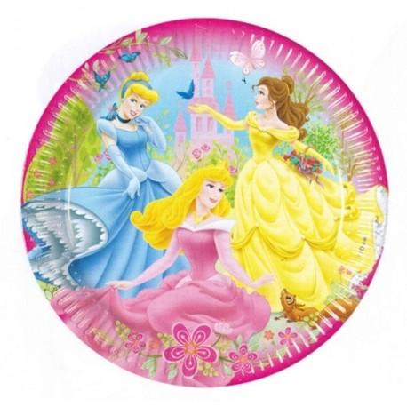piatti carta principesse cm 23 confezione 10 pezzi