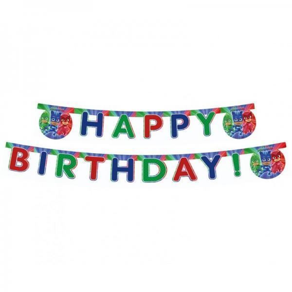 baner happy birthday pidzamersi 200cm