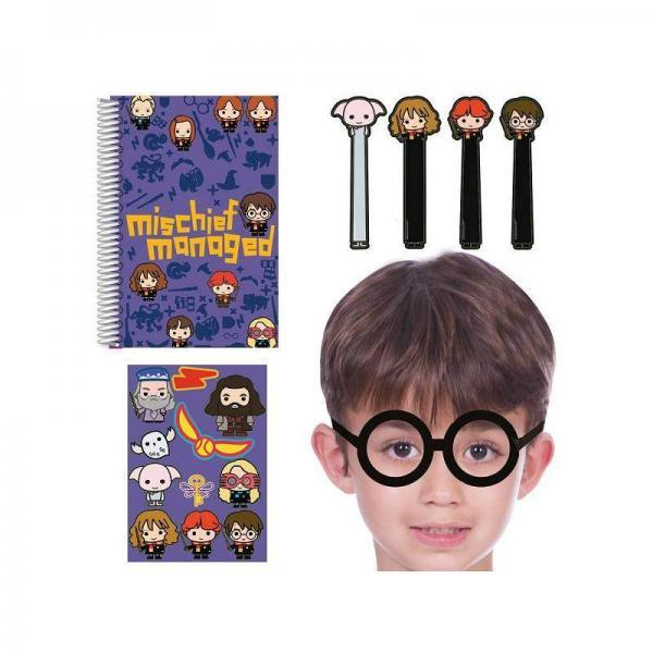 kit brinquedos assorted harry potter 16 pc