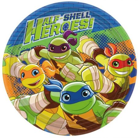 pratos tartarugas ninja